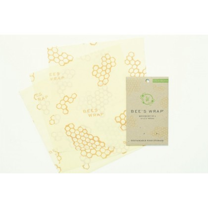 Bees Wrap - 3 ark Medium