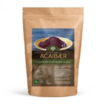 Acai - Frysetørket pulver - Økologisk