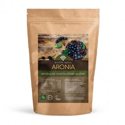 Aronia - Svartsurbær - Pulver - Økologisk - 250 g
