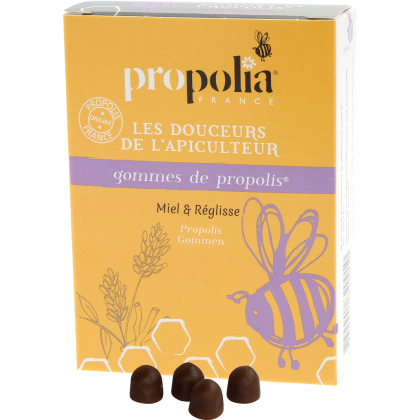 Propolia Propolis Lozenges - Honey and Liquorice, pastiller - 45 g