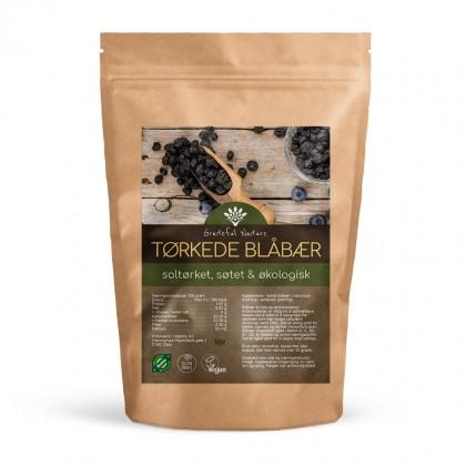 Blåbær soltørkede - Søtede - Økologiske - 500 g