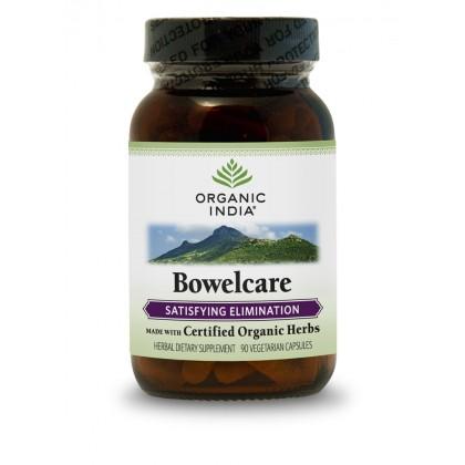 Naturlig Flyt i tarmen - Eliminering - Bowel care Organic India