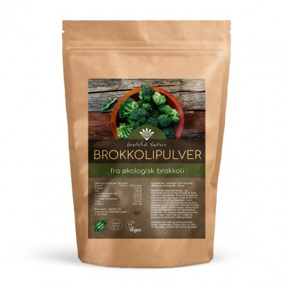 Brokkolipulver - Økologisk - 250g