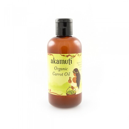 Akamuti Carrot Oil Organic, Gulrotfrøolje - 100 ml