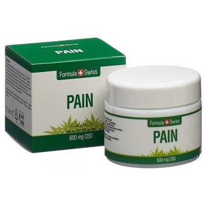 CBD smerte-krem - 30 ml - Formula Swiss