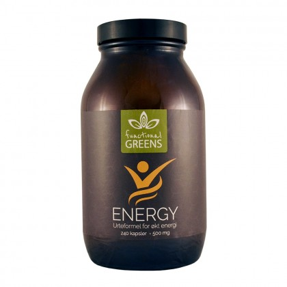 Energy urteformel - Functional Greens - 240 kapsler