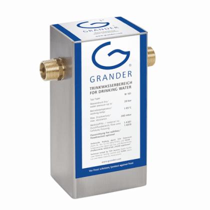 """Grander 3/4"""" vannbehandler - revitaliserer vann til en liten bolig, mindre vanningsanlegg ved dyrking av mat"""