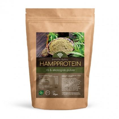 Hampproteinpulver - Hemp - Rå økologisk