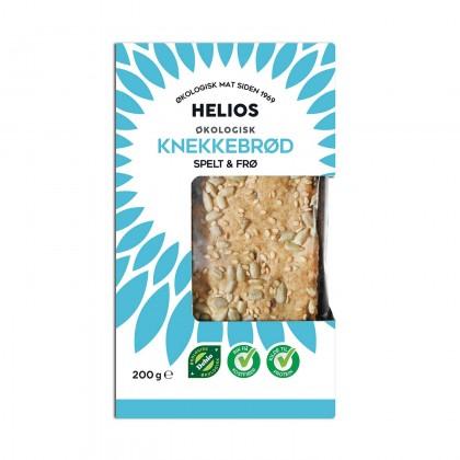 Helios - Speltknekkebrød m/frø Økologisk - 200g