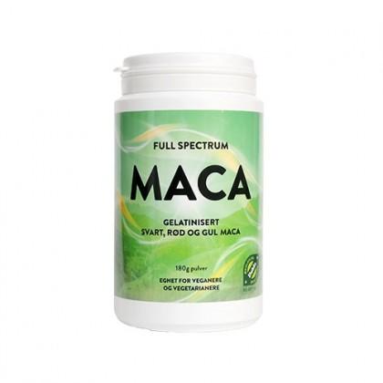 Full Spectrum Maca - gelatinisert pulver - 180g