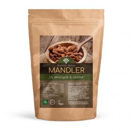Mandler - Rå Økologisk - 250 g