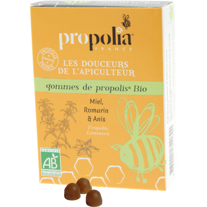 Propolia Propolis Lozenges - Honey, Rosemary and Aniseed, pastiller - 45 g