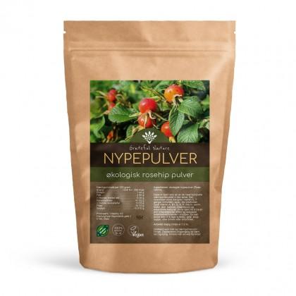 Nypepulver - Rosehip Powder - Rå - Økologisk - 250 g