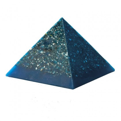 Orgone Power Pyramide - Orgonite - Stor