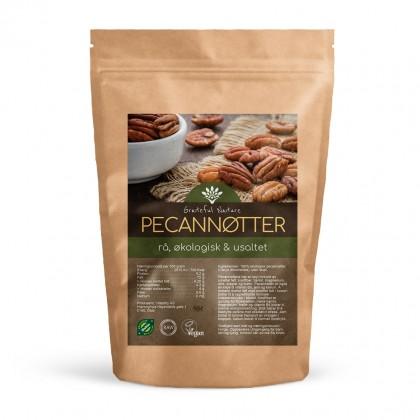 Pecannøtter - Økologisk - Rå - 500 g