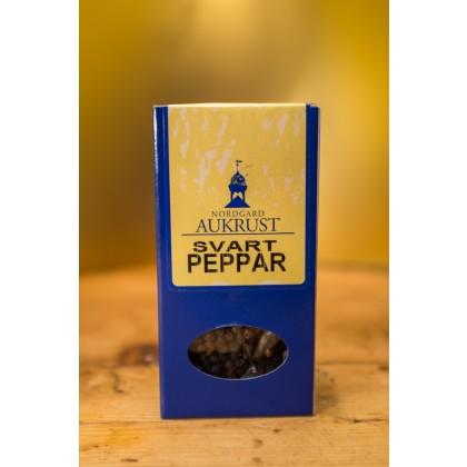 Aukrust Nordgard - Økologisk Svart pepper, hel - 30 g