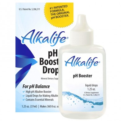AlkaLife - pH dråper for basisk vann. pH 8-10