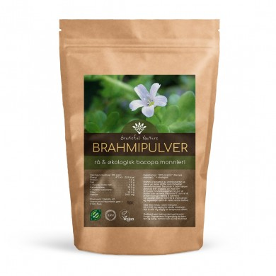 Brahmi Pulver - Bacopa monnieri - Rå - Økologisk - 250 g