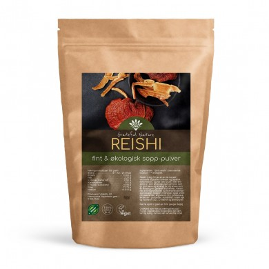 Reishi sopp pulver - Økologisk - 125 g