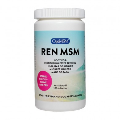 Ren MSM - 180 tabletter