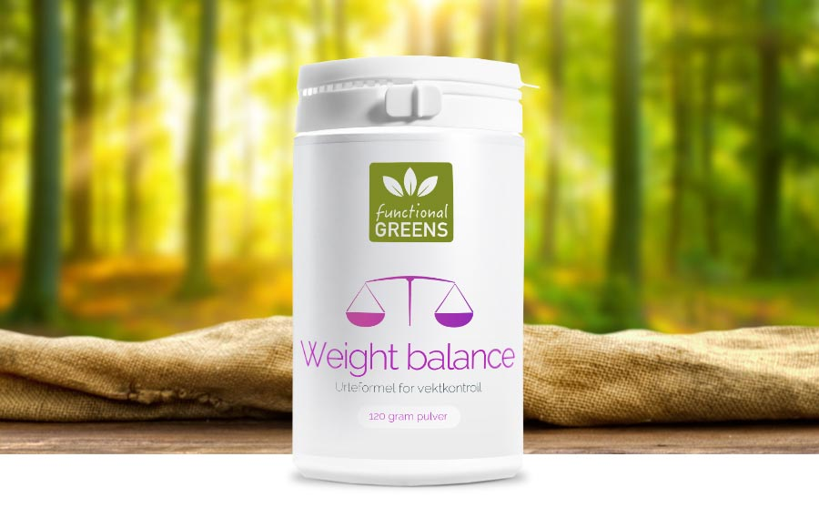 Functional greens - Weight Balance